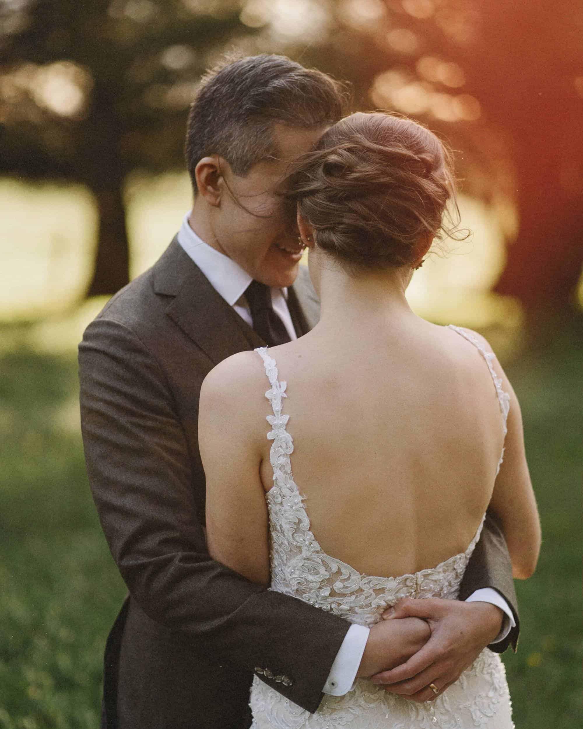 Beautiful wedding photo by Exeter wedding photographer Thom Stewart